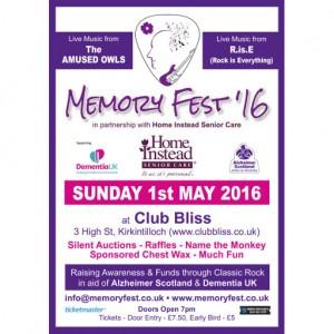 Memory Fest Poster