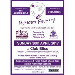 Memory Fest '17 Poster